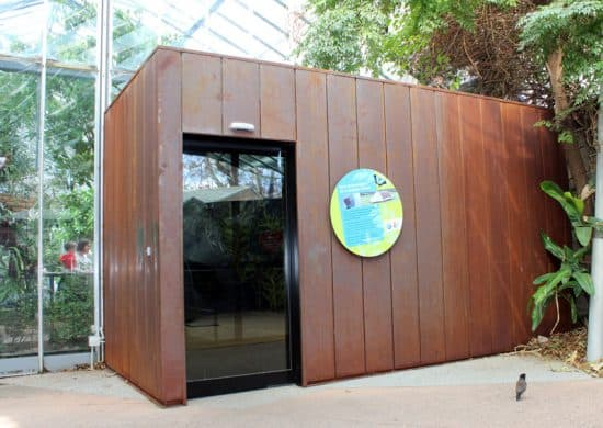 Zoos Victoria – Melbourne Zoo Butterfly House Entry and Exit portals