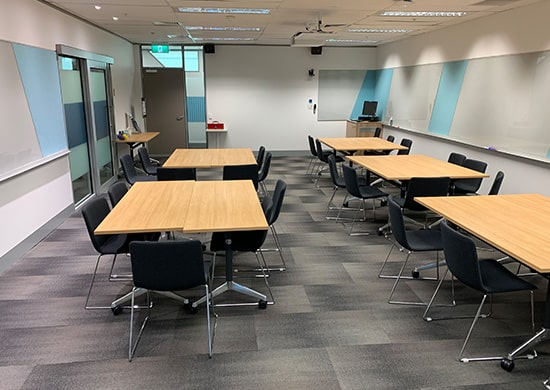 UoM FBE Building Office Refurbishment and Fitout of Levels 5 and 6